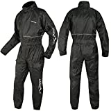 A-Pro Motorcycle Motorbike Waterproof Rain Suit Over One 1 pc Trousers Jacket 3XL