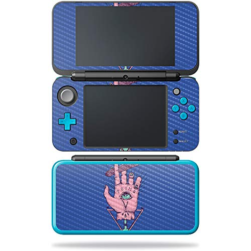 MightySkins Carbon Fiber Skin for Nintendo New 2DS XL - God of Skate | Protective, Durable Textured Carbon Fiber Finish | Easy to Apply, Remove, and Change Styles | Made in The USA