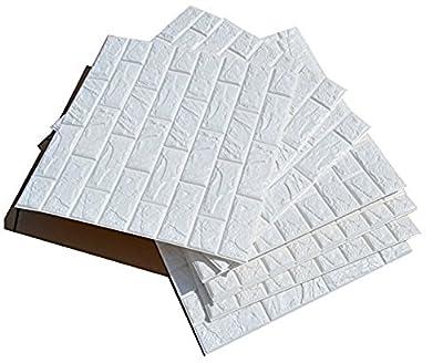 【Dimensión】 PE espuma de algodón ambiental, Tamaño de la etiqueta de la pared: 60CM * 60CM (1PCS),5 pieza/set. Tamaño del paquete: 60CM * 30CM Embalaje plegable. 【Materiales ecológicos】 Espuma 3D decorativa suave, segura y respetuosa con el medio amb...