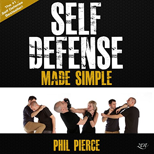 Self-Defense Made Simple audiobook cover art