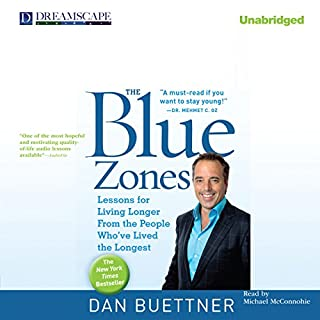 The Blue Zones audiobook cover art