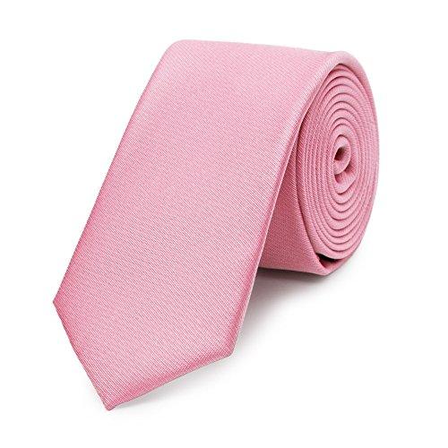 Bruce Field - Cravate fine en pure soie lisse