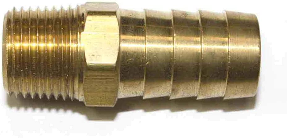 Interstate 入手困難 Pneumatics FM68-5 Brass Barb 卸直営 Hose Fitting Connector