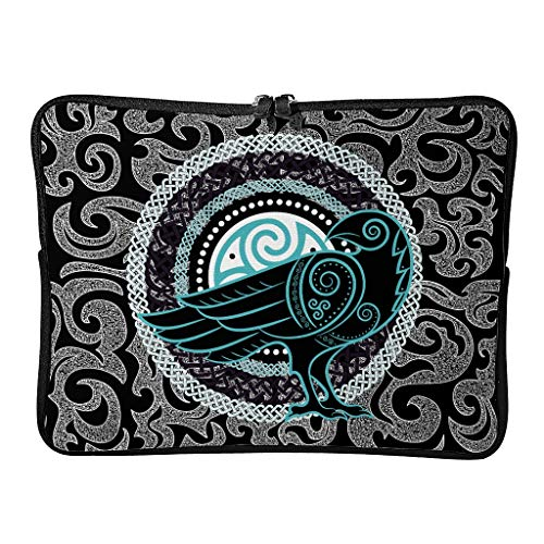 Regular War Eagle Viking Laptop Bags Slim Reusable - Laptop Sleeves Suitable for Indoor White 17inch