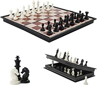 """Mini Chess Board, 7.08"""" x 7.08"""" Folding Chess Set with Magnetic Pieces, Travel Chess Set, Board Game for Kids and Family...."""