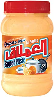 Al EMLAQ SUPER PASTE DISH WASH OrangeGEL 1KG