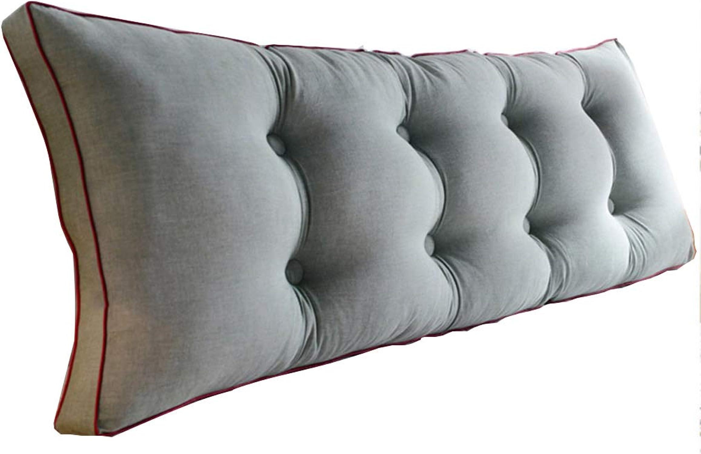 BTPDIAN Dos de lit, oreiller long de coussin de canapé, le dossier est positionné pour supporter l'oreiller, la lecture et les oreillers (Couleur   A, taille   180cm)
