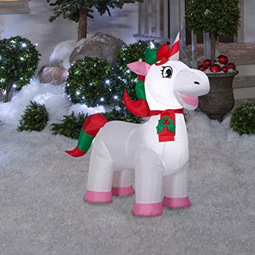 Airblown Christmas Unicorn