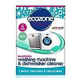 Ecozone Washing Machine & Dishwasher Cleaner Eucalyptus - 6 Tablets