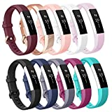 AK Replacement Bands Compatible with Fitbit Alta Bands/Fitbit Alta HR Bands (10 PACK), AK Replacement Bands for Fitbit...