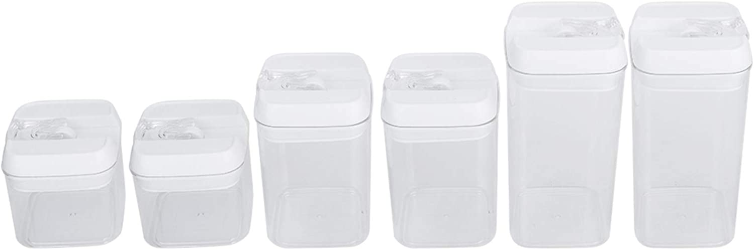 Food 2021 spring and summer new Storage Great interest Container BuyWeek 0.5L 0.8L Transparent Seale 1.2L