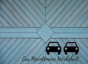 Best car maintenance worksheet Reviews