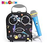 Kids Karaoke Machine- Portable Beach Handbag Karaoke Bluetooth Speaker Wireless Cartoon Speaker