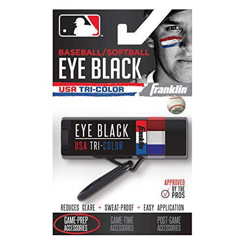 Franklin Premium Eye Black, Gesichtsfarbe - USA Tri-Color