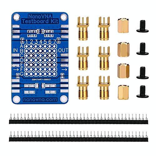 DiyStudio NanoVNAテストボード アンテナネットワークアナライザーキットベクトル分析テストボード Demoボードデモボード すべてのNanoVNAアナライザーと互換性があります