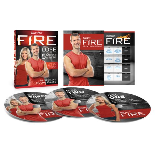 BurstFit FIRE: Dr. Josh Axe's DVD Workout Program