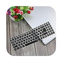 2020 For Acer Aspire5用A515-54A515-43 A515 52 57mu A515 52g Swift 315.6インチシリコンキーボードカバーラップトッププロテクタースキンガード-Black-