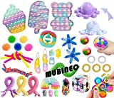 Fidget Toys Set Sensory Toys Pack Fidget Spielzeug Set Sinnes Spielzeug Packung mit Pop Spielzeug für Kinder, Schüler Familie Stress Relief Anti-Angst-Tools (Fidget Packs C3)