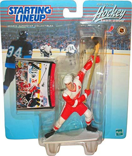 Starting Lineup 1999-2000 Hockey Action Figure - Nicklas Lidstrom (Detroit Redwings) by Hasbro