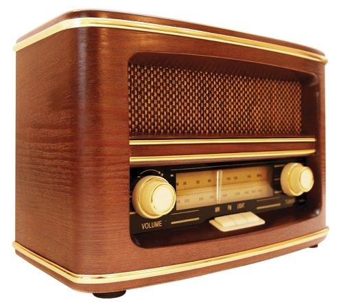 GPO Retro Winchester Analogue - Radio (Personal, Analógica, FM,MW, 88-108 MHz, Analógica, Marrón)