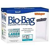 Tetra Whisper Bio-Bag Replacement Cartridge Unassembled Large 12pk