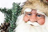 Unbekannt Weihnachtsmann Weihnachtsmänner Figur ca. 60cm Deko Nikolaus Santa Claus| 6 Verschiedene Modelle zur Auswahl (Santa) - 5