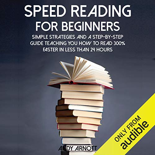 Speed Reading for Beginners audiobook cover art