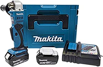 Makita Akku-Winkelbohrmaschine 18 V ZKBF / 5 Ah im Makpac, DDA350RTJ