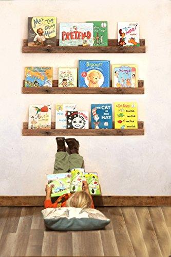 Bookshelf (single) for Kid's Books made from reclaimed wood