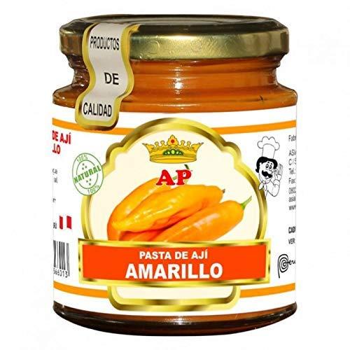 AP- Pasta de Aji Amarillo - 100 % Producto Peruano- Ideal Para Darle Un Sabor Especial A Tus Comidas -227 Gramos