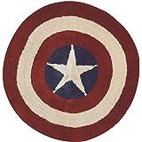 丸眞 マット Marvel マーベル キャプテンアメリカ 直径約60cm スタリーラウンド 2505000900
