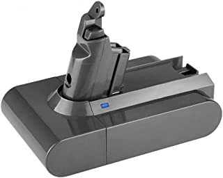 Munikind 3000mAh 21.6V Li Battery Replace for Dyson V6 Battery DC59 DC58 DC61 DC72 DC74 DC62 Animal 595 650 770 880 SV03 SV05 SV06 Handheld Vacuum Cleaner Batteries