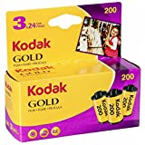 Kodak KOD102010 - Película Negativo Color (35mm, Gold 200-24 tripack)