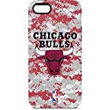Skinit Pro Phone Case Compatible with iPhone 5/5s/5SE - Officially Licensed NBA Chicago Bulls Digi Camo Design
