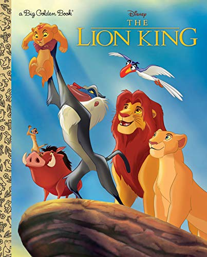 The Lion King (Disney the Lion King) (Big Golden Books)