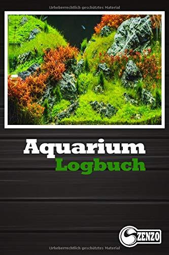 Aquarium Logbuch: Wasserwerte messen und notieren. Das ideale Geschenk für Aquarianer.