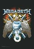 empireposter Megadeth Flagge - Eagle - Posterflagge 100%