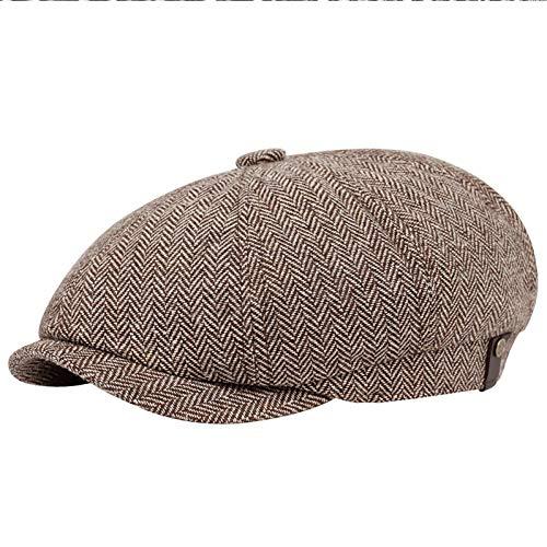 PKYGXZ Boinas de Talla Grande para Hombre Sombrero de Cabeza Grande Hombre...