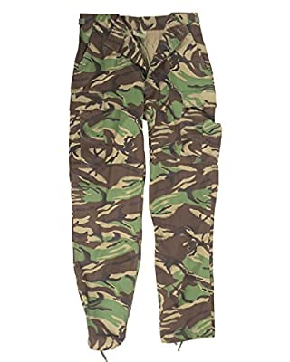 Miltec British DPM Camouflage BDU Trousers (X-Large)