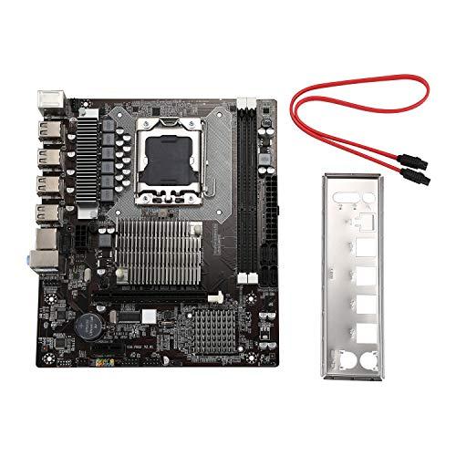 Monland Placa Base X58 LGA1366 SATA2.0 USB2.0 DDR3
