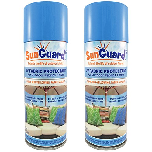 SUNGUARD Fabric UV Protectant and Sealant Spray (2 Pack) for