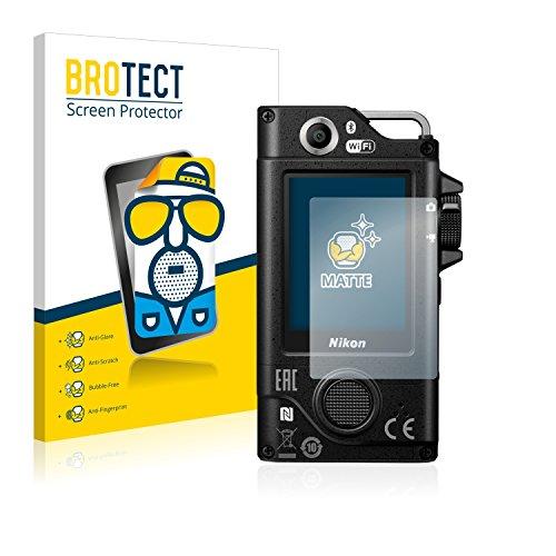 BROTECT 2X Entspiegelungs-Schutzfolie kompatibel mit Nikon Key Mission 80 Bildschirmschutz-Folie Matt, Anti-Reflex, Anti-Fingerprint