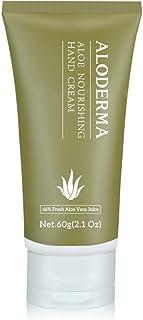 ALODERMA Nourishing Hand Cream 60g with Pure Organic Aloe Juice