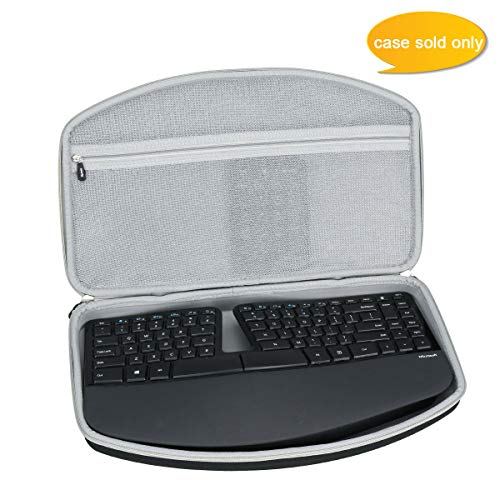 Aproca Hard Carry Travel Case fit Microsoft Sculpt Ergonomic Keyboard (5KV-00001)