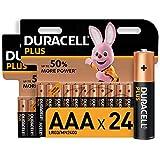 Die Duracell Plus AAA Batterien erbringen bis zu 50% mehr Power* Die Duracell Plus Batterien sind Alkaline-Mehrzweckbatterien und eignen sich für elektronische Alltagsgeräte Die Superior Nylon Abdeckung dient dazu, dem Auslaufen der Batterien vorzube...