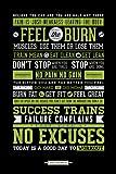 Pyramid Generic Gym Motivational Maxi Poster, Multicolore, 61 x 91,5 cm