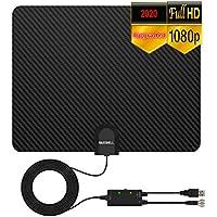 Hausbell 2020 Digital TV Inbdoor Antenna with Amplified 4K HD