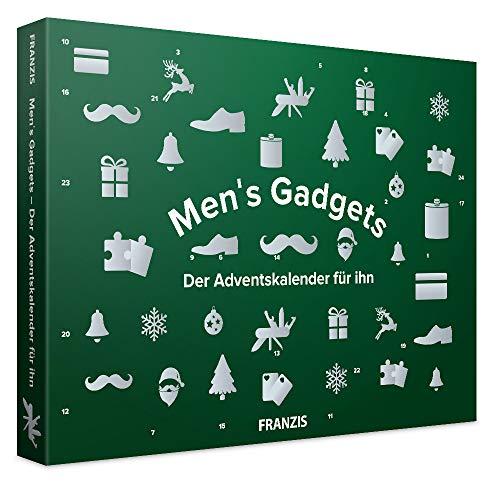 FRANZIS Men's Gadgets 2020: Der Adventskalender für ihn | 24 Türchen, die den Alltag erleichtern | Jeder Tag eine kleine Überraschung | Ab 14 Jahren
