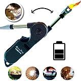 Stormfire USB Plasma Flamlos Feuerzeug mit Kindersicherung Lichtbogen elektrisch aufladbar für...