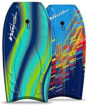 Wavestorm 40  Bodyboard 2-Pack Blue red and Blue Yellow